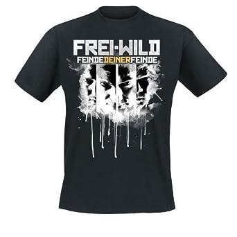 Frei.Wild - Feinde Deiner Feinde T-Shirt, schwarz, Grösse M