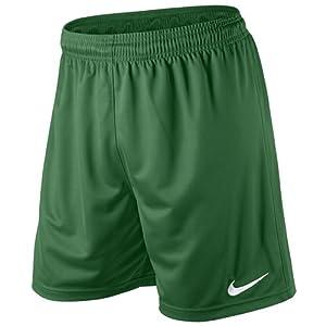 Nike Herren Kurze Hose Park II Knit, pine green/white, L, 448224-302