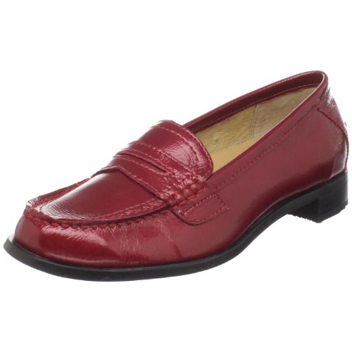 Sebago Women's Cami Penny Loafer, Red Patent, 10 M US