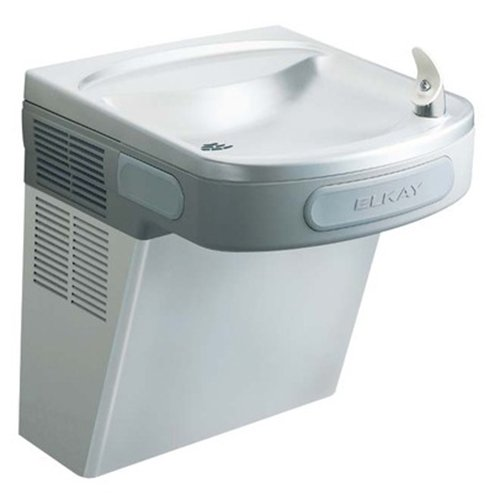 Elkay EZS8S ADA Compliant Barrier Free Water Cooler with Stainless Steel Lower Shroud, 8 Gallons Per Hour