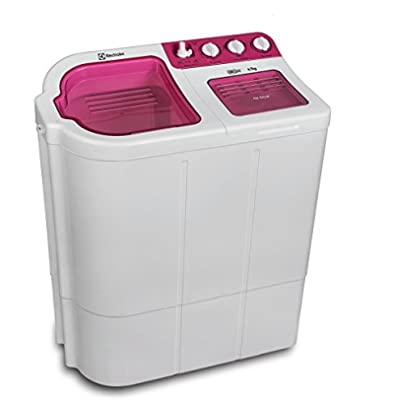 Electrolux Euro Glitz WM ES67GZLP Semi-automatic Top-loading Washing Machine (6.7 Kg, Luminous Pink)