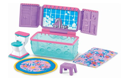 Fisher-Price Dora the Explorer Dollhouse Bathroom Furniture (Fisher Price Dora House compare prices)
