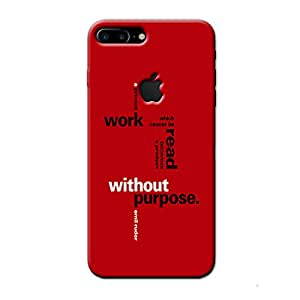 WORK AND PURPOSE BACK COVER APPLE IPHONE 7