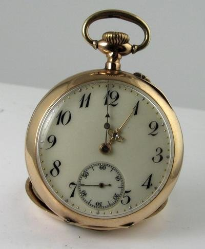 14k Gold Antique Women's Pocket Watch
