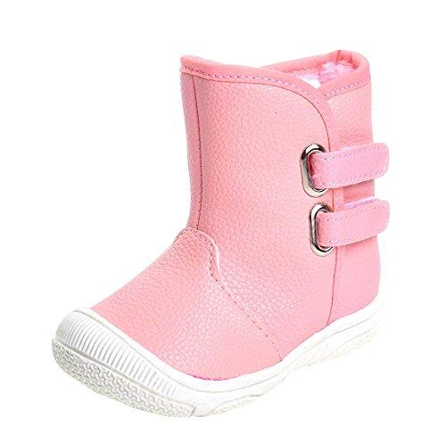 ESTAMICO, Stivaletti bambini rosa Pink 12 - 18 mesi