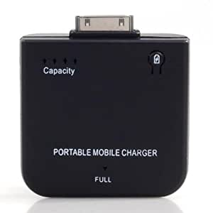 Neewer External Portable Power Source Battery/Charger for Apple iPhone 4