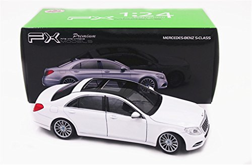 Welly 1:24 Mercedes Benz S-Class S600 Diecast Model Car White New in Box (Mercedes Benz Model Cars compare prices)