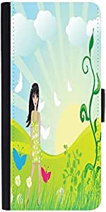Snoogg Abstract Illustration Designer Protective Phone Flip Case Cover For Zenfone Max