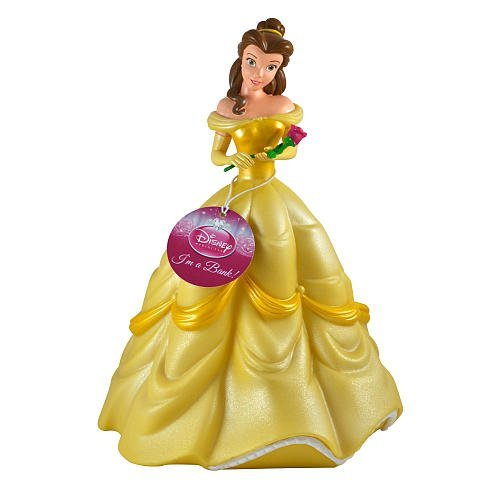 Beauty and the Beast Belle Coin Bank Gift for Girls who Love Disney
