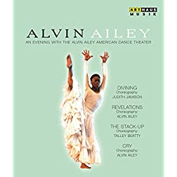 Alvin Ailey - An Evening with the Alvin Ailey American Dance Theater [Blu-ray]