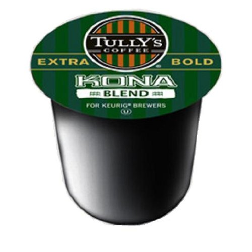 Tully's Coffee Kona Blend, 12-Count K-Cups for