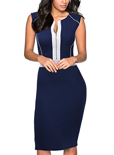 Miusol-Womens-Formal-Scoop-Neck-Optical-Illusion-Fitted-Bodycon-Pencil-Dress