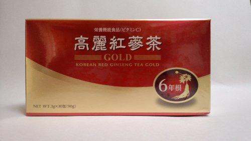 高麗紅蔘茶GOLD 明日の健やかな健康のため、お役立てください