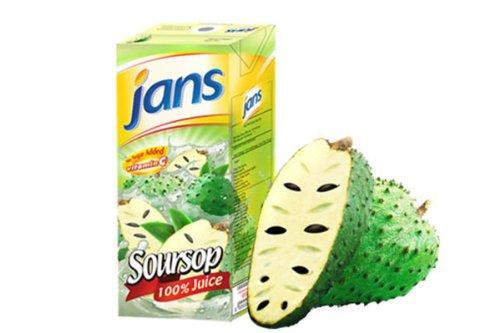 Jans Soursop Exotic Tropical Juice, 8.45 oz., 24-Count