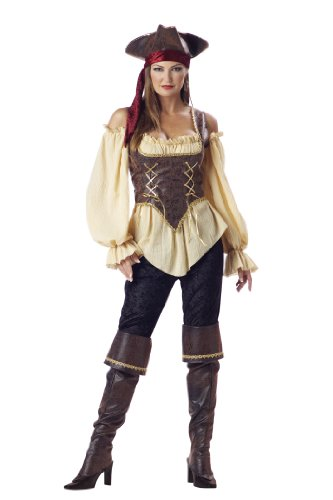 Rustic Pirate Lady Adult S Adult Womens Costume