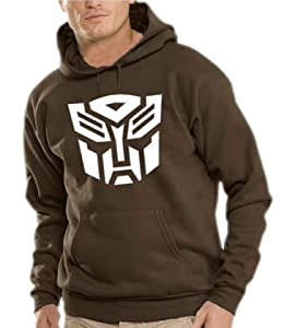 Touchlines Hooded Sweatshirt S - XXXL Transformers Logo Various Colours brown Size:S