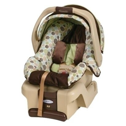 Graco Green And Brown Car Seat
