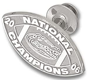 Florida Gators 2006 Bowl Championship Series 3 4 Logo Lapel Pin - 14KT Gold Jewelry by Logo Art