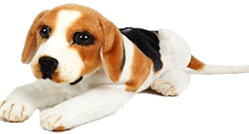 Like the Real Pet!Cute Animal Tissue Box Stuffed Toy Case (Dog Beagle)