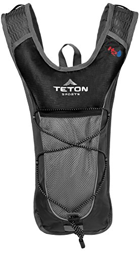 TETON Sports Trailrunner 2 Liter Hydration Backpack Perfect for Biking, Running, Hiking, Climbing, and Hunting; Black (Water Pack compare prices)