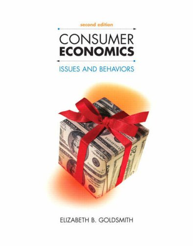 Consumer Economics: Issues and Behaviors, 2nd Edition
