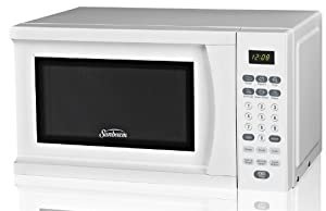 Sunbeam SGS90701W-B 0.7-Cubic Foot Microwave Oven, White from EMG East, Inc. (direct order)