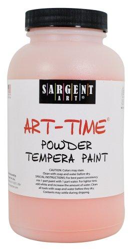 Sargent Art 22-7114 1-Pound Art Time Powder Tempera, Orange