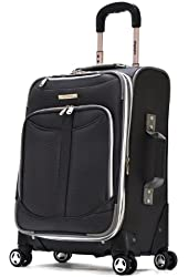 Olympia Luggage  Tuscany 21 Inch Expandable Spinner Airline Carry-On Upright