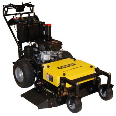"""Stanley 36"""" Commercial Duty Hydro Walk-Behind Finish Cut Lawn Mower With Floating Deck"""