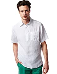 Blue Harbour Pure Linen Short Sleeve Shirt