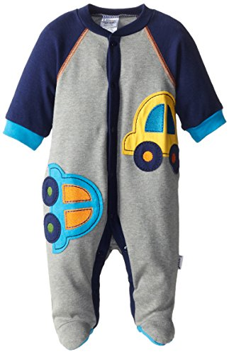 Lamaze Baby-Boys Newborn Newborn Boy 1 Pk Snapfront Sleep N' Play Cars, Cars, Newborn