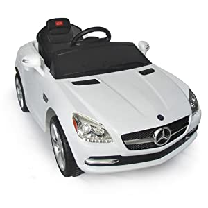 Mercedes benz slk kids 6v electric ride on toy for Mercedes benz toy car ride on