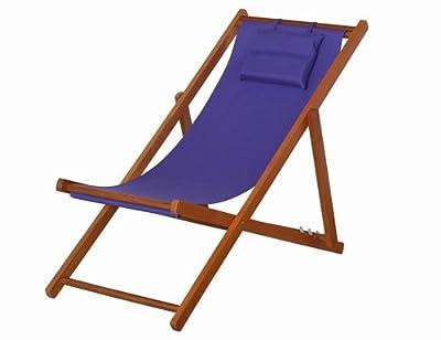SIENA GARDEN Faro Strandliegestuhl aus Hartholz von H. Gautzsch GmbH & Co. KG bei Gartenmöbel von Du und Dein Garten
