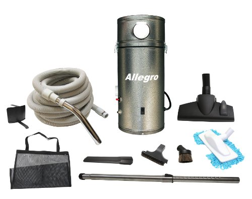 Allegro Central Vacuum & 30 ft. Deluxe Package for RVs Campers Trailer Yacht (Motorhome Vacuum compare prices)