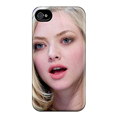 Premium BAchAPR1381dTWOw Case With Scratch-resistant/ Amanda Seyfried At El Hormiguero Case Cover For Iphone 5/5s