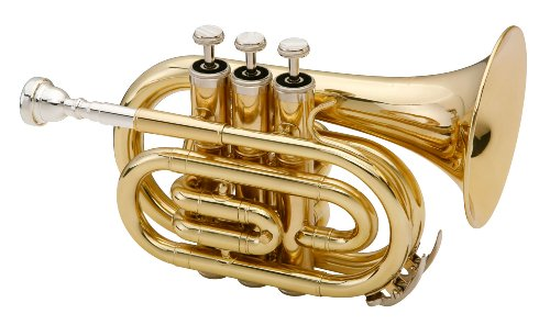 Classic Cantabile Brass Pocket Trumpet Brass