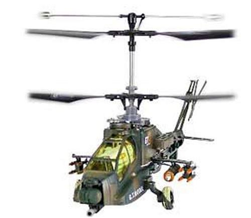 Apache Ah-64 4 Channel Remote Control Helicopter- High Power Feral Beast Version