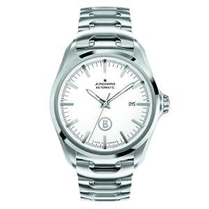 Junghans Herren-Armbanduhr XL Bogner Willy Automatic Analog Automatik Edelstahl 027/4274.44