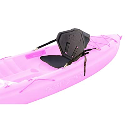 KOF332 Surf to Summit Outfitter Tall Back Kayak Seat with Standard Pack, Black from Sportsman Supply Inc.