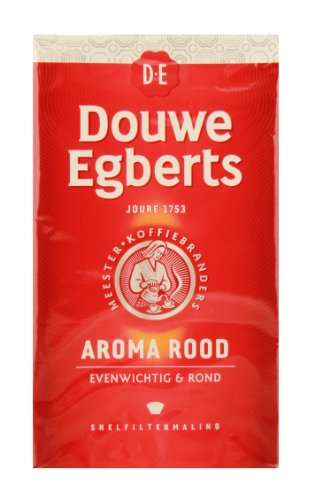 Douwe Egberts Aroma Rood Ground Coffee, 8.8-Ounce Package (Douwe Egberts Liquid Coffee compare prices)