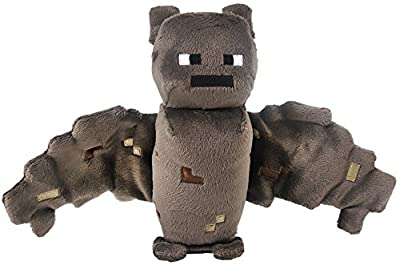 "Just Model Overworld Bat ~7"" Minecraft Mini-Plush Series by Zoofy International"