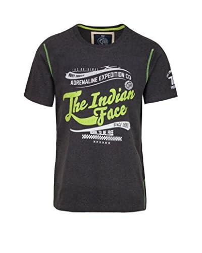 THE INDIAN FACE T-Shirt dunkelgrau