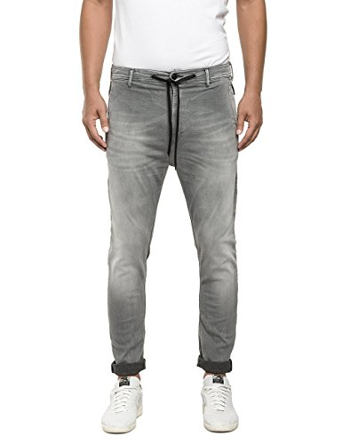 Replay Herren Jeanshose M9541 .000.51B A04, Grau (Grey Denim 009), W33 thumbnail