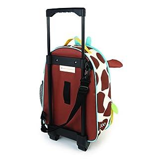 Skip Hop Zoo Kids Rolling Luggage, Giraffe