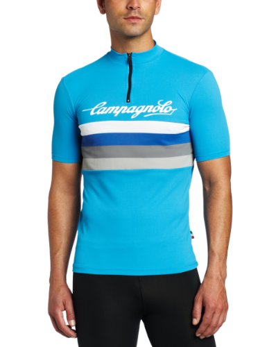 Buy Low Price Campagnolo Sportswear Men's Allegro High Neck Logo Jersey (1303013-P)