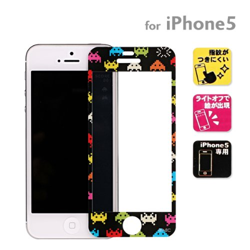 Sumahogo Screen Protecting Film for iPhone 5 Invaders