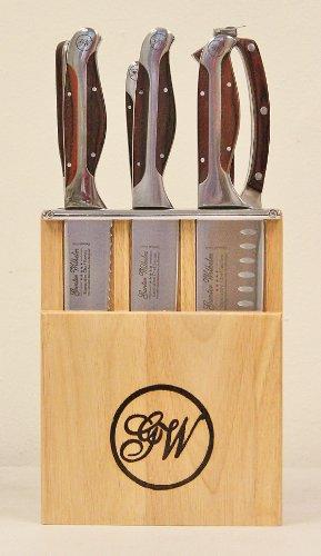 Gunter Wilhelm Executive Chef Series Model 203 7 Piece Mini Cutlery Knife Set