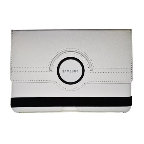 Cell Accessories For Less (Tm) Samsung Galaxy Note 10.1 Leather Case W/ Rotary Cover&Gray - By Thetargetbuys