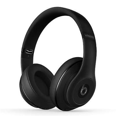 【国内正規品】Beats by Dr.Dre Studio Wireless 密閉型ワイヤレスヘッドホン ノイズキャンセリング Bluetooth対応 マットブラック BT OV STUDIO WIRELS MBLK