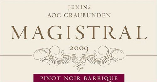 2009 Magistral Barrique Pinot Noir Aoc Graubunden 750 Ml